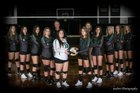 Eagle's View Warriors Girls Varsity Volleyball Fall 18-19 team photo.