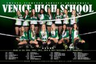 Venice Indians Girls Varsity Volleyball Fall 18-19 team photo.