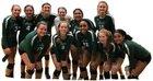 Lafayette Fighting Irish Girls Varsity Volleyball Fall 18-19 team photo.