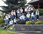 Northwest Christian School Crusaders Girls Varsity Volleyball Fall 18-19 team photo.