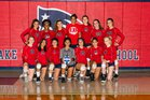 Lake Brantley Patriots Girls Varsity Volleyball Fall 18-19 team photo.