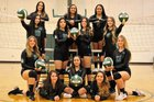 Green River Pirates Girls Varsity Volleyball Fall 18-19 team photo.
