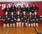 Pine Ridge Thorpes Girls Varsity Volleyball Fall 18-19 team photo.