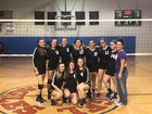 Reserve Mountaineers Girls Varsity Volleyball Fall 18-19 team photo.
