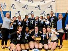 Bishop Kearney Kings Girls Varsity Volleyball Fall 18-19 team photo.