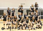Sterling Black Bears Girls Varsity Volleyball Fall 18-19 team photo.