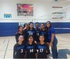 Monarch Royals Girls Varsity Volleyball Fall 18-19 team photo.