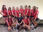 Bernalillo Spartans Girls Varsity Volleyball Fall 18-19 team photo.