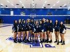 Pioneer Pioneers Girls Varsity Volleyball Fall 18-19 team photo.