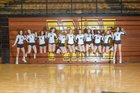 Traverse City Central Trojans Girls Varsity Volleyball Fall 18-19 team photo.