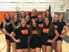 Apple Valley Sun Devils Girls Varsity Volleyball Fall 18-19 team photo.