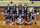 Mt. Rainier Rams Girls Varsity Volleyball Fall 18-19 team photo.