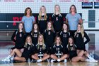 Jonathan Alder Pioneers Girls Varsity Volleyball Fall 18-19 team photo.