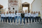 Royse City Bulldogs Girls Varsity Volleyball Fall 18-19 team photo.