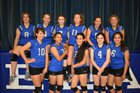 Tulelake Honkers Girls Varsity Volleyball Fall 18-19 team photo.