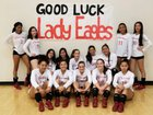 Cleveland Eagles Girls Varsity Volleyball Fall 18-19 team photo.