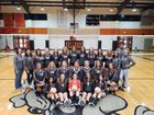 Waldron Bulldogs Girls Varsity Volleyball Fall 18-19 team photo.