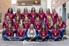 Roosevelt Rough Riders Girls Varsity Volleyball Fall 18-19 team photo.