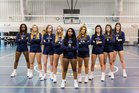 St. John Paul II Panthers Girls Varsity Volleyball Fall 18-19 team photo.