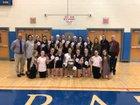 Burnt Hills-Ballston Lake Spartans Girls Varsity Volleyball Fall 18-19 team photo.