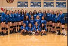 Bexley Lions Girls Varsity Volleyball Fall 18-19 team photo.