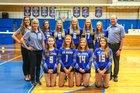 St. John Lutheran Saints Girls Varsity Volleyball Fall 18-19 team photo.