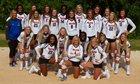 Walton Raiders Girls Varsity Volleyball Fall 18-19 team photo.
