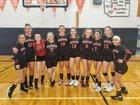 Northport Mustangs Girls Varsity Volleyball Fall 18-19 team photo.