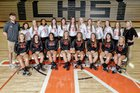 LaFayette Ramblers Girls Varsity Volleyball Fall 18-19 team photo.