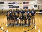 Norwell Knights Girls Varsity Volleyball Fall 18-19 team photo.