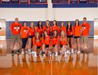 Jesse Carson Cougars Girls Varsity Volleyball Fall 18-19 team photo.
