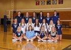 Lake Country Lutheran Lightning Girls Varsity Volleyball Fall 18-19 team photo.