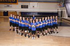 Valley Christian Academy Lions Girls Varsity Volleyball Fall 18-19 team photo.