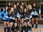Wells Leopards Girls Varsity Volleyball Fall 18-19 team photo.