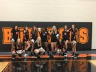 Elida Bulldogs Girls Varsity Volleyball Fall 18-19 team photo.