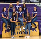 Santa Rosa Lions Girls Varsity Volleyball Fall 18-19 team photo.