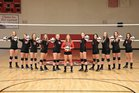 Crosspoint Warriors Girls Varsity Volleyball Fall 18-19 team photo.
