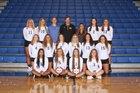 Sandburg Eagles Girls Varsity Volleyball Fall 18-19 team photo.