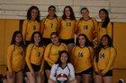 Mission Bears Girls Varsity Volleyball Fall 18-19 team photo.