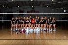 Santa Fe Christian Eagles Girls Varsity Volleyball Fall 18-19 team photo.