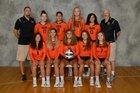 Washington Tigers Girls Varsity Volleyball Fall 18-19 team photo.