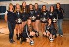 Blanchester Wildcats Girls Varsity Volleyball Fall 18-19 team photo.