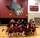 Weiss Wolves Girls Varsity Volleyball Fall 18-19 team photo.