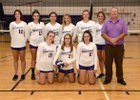 Union Springs Wolves Girls Varsity Volleyball Fall 18-19 team photo.