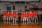 Boone Braves Girls Varsity Volleyball Fall 18-19 team photo.