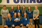 University Prep Pumas Girls Varsity Volleyball Fall 18-19 team photo.
