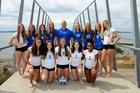 Curtis Vikings Girls Varsity Volleyball Fall 18-19 team photo.