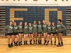 Roanoke Catholic Celtics Girls Varsity Volleyball Fall 18-19 team photo.