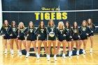 Arcadia Valley Tigers Girls Varsity Volleyball Fall 18-19 team photo.