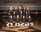 Artesia Bulldogs Girls Varsity Volleyball Fall 18-19 team photo.